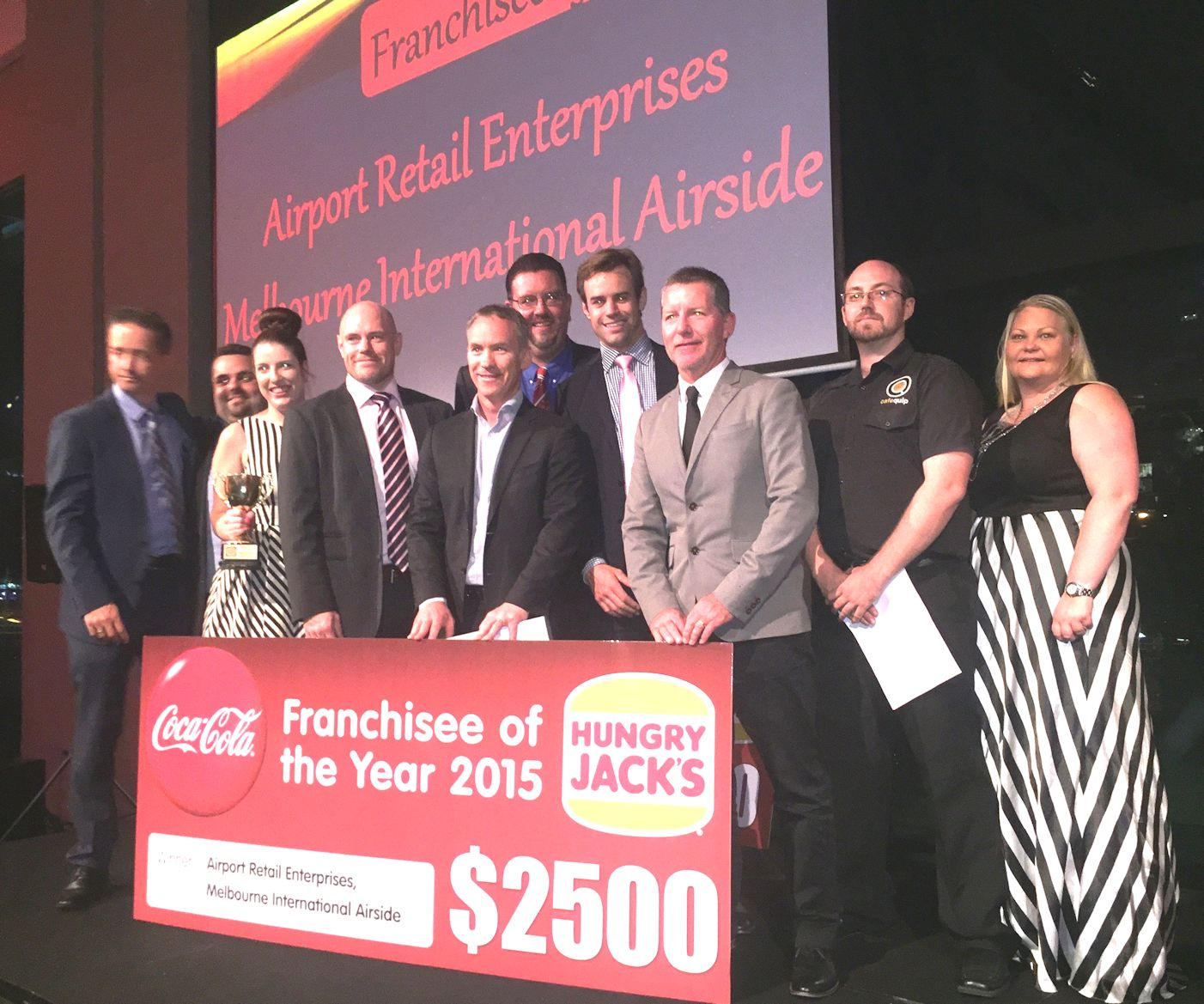 Hungry Jacks franchise of the year
