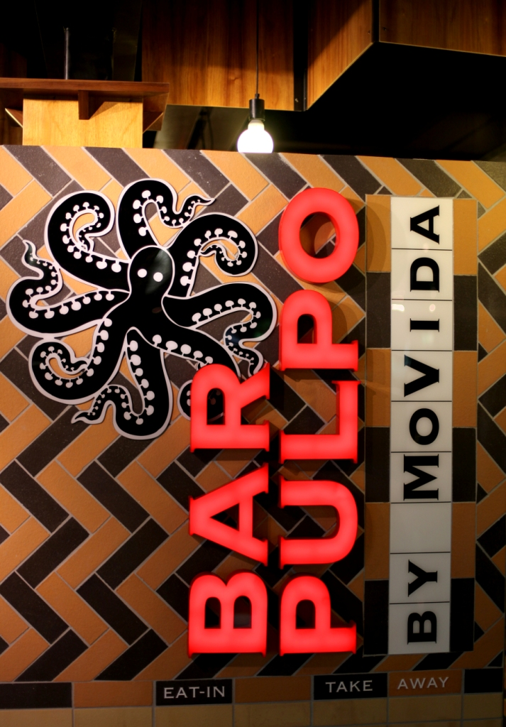 Airport Retail Bar Pulpo by MoVida